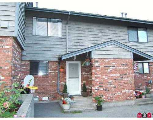 Main Photo: 47 10780 GUILDFORD DRIVE in North Surrey: Guildford Home for sale ()  : MLS®# F2716267