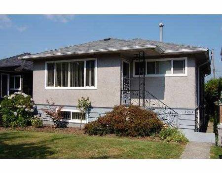 Main Photo: 3253 E 22nd Ave, Vancouver: House for sale (Renfrew Heights)