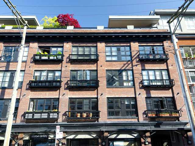 Main Photo: # 305 1066 HAMILTON ST in Vancouver: Yaletown Condo for sale (Vancouver West)  : MLS®# V1056942
