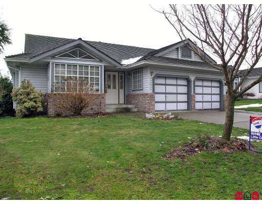 "Main Photo: 2872 CROSSLEY Drive in Abbotsford: Abbotsford West House for sale in ""Elwood Estates"" : MLS®# F2626869"