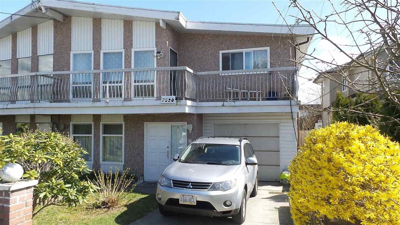 Main Photo: 7520 19TH AVENUE in Burnaby: Edmonds BE House 1/2 Duplex for sale (Burnaby East)  : MLS®# R2253712