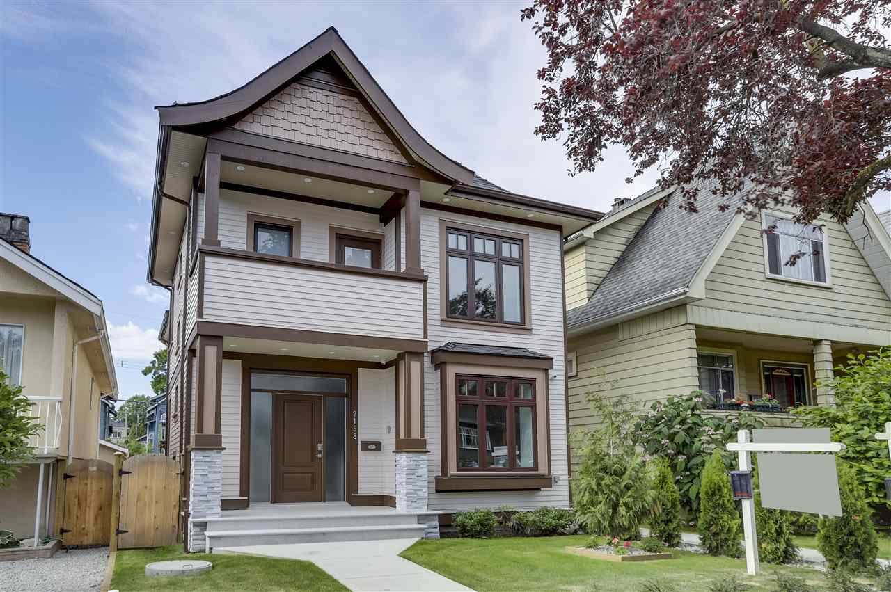 Main Photo: 2158 GRANT STREET in Vancouver: Grandview Woodland House 1/2 Duplex for sale (Vancouver East)