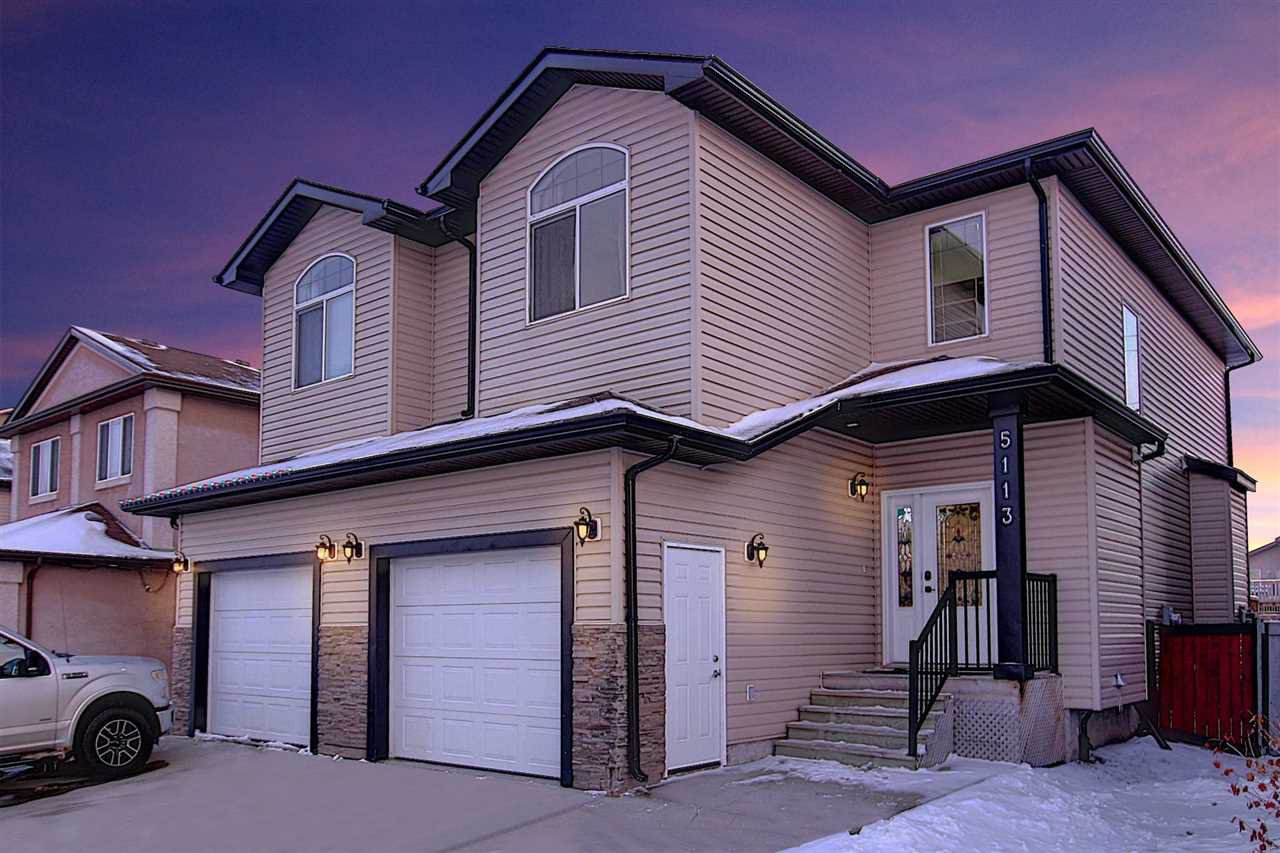 Main Photo: 5113 164 Avenue in Edmonton: Zone 03 House Half Duplex for sale : MLS®# E4221465