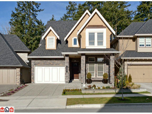 """Main Photo: 16235 26B Avenue in Surrey: Grandview Surrey House for sale in """"MORGAN HEIGHTS"""" (South Surrey White Rock)  : MLS®# F1226421"""