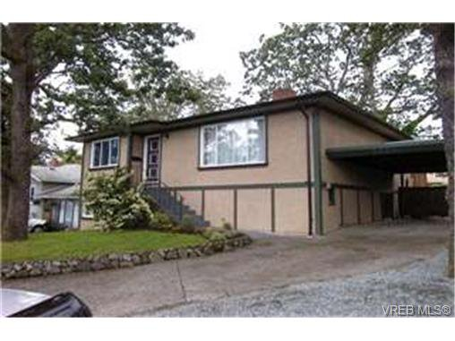 Main Photo:  in VICTORIA: SE Quadra House for sale (Saanich East)  : MLS®# 400536