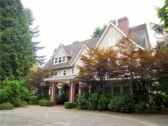 Main Photo: 3823 CYPRESS ST in Vancouver: Shaughnessy House for sale (Vancouver West)  : MLS®# V1080516