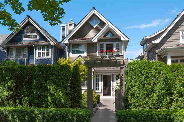 Photo 20: Photos: 2267 W 13TH AV in VANCOUVER: Kitsilano House 1/2 Duplex for sale (Vancouver West)  : MLS®# R2089401