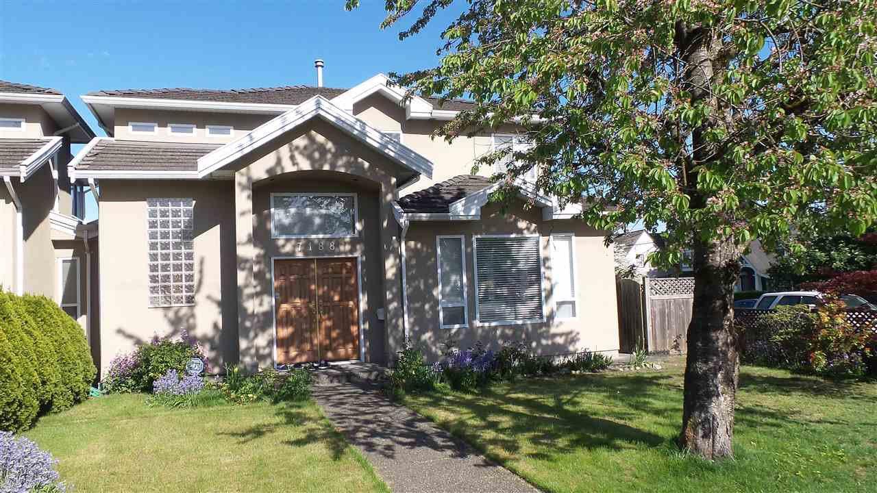 Main Photo: 7188 WAVERLEY AVENUE in Burnaby: Metrotown House 1/2 Duplex for sale (Burnaby South)  : MLS®# R2266711