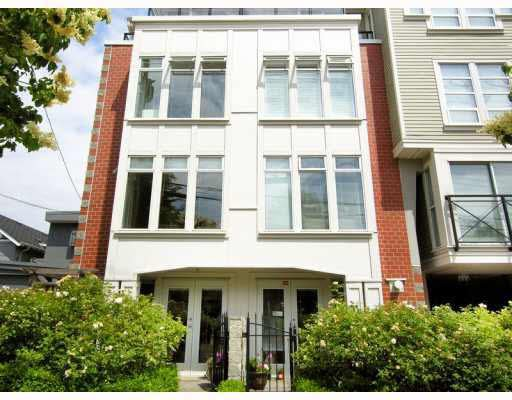 Main Photo: 202 3637 W 17TH AVENUE in : Dunbar Townhouse for sale : MLS®# V771911