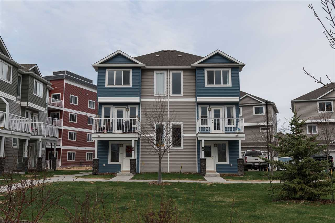 Main Photo: 40 1816 RUTHERFORD Road in Edmonton: Zone 55 Townhouse for sale : MLS®# E4182174