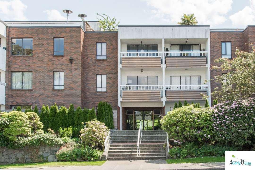 Main Photo: 316 2450 CORNWALL AVENUE in Vancouver: Kitsilano Condo for sale (Vancouver West)  : MLS®# R2074380