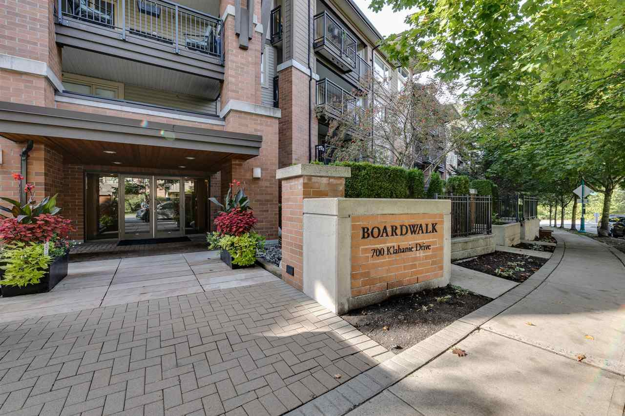 Main Photo: 322 700 KLAHANIE DRIVE in Port Moody: Port Moody Centre Condo for sale : MLS®# R2309869