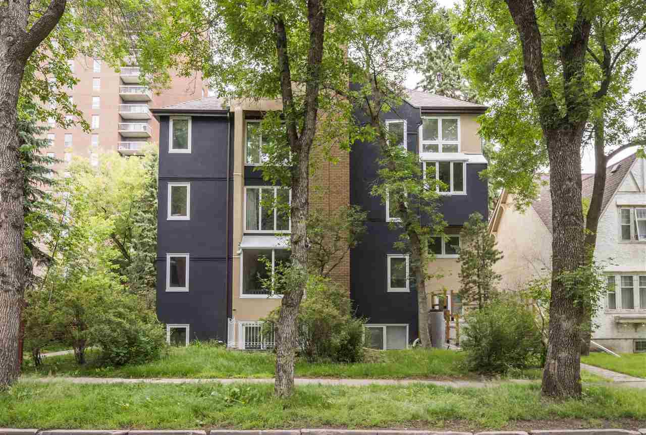 Main Photo: 14 11016 86 Avenue in Edmonton: Zone 15 Townhouse for sale : MLS®# E4166094