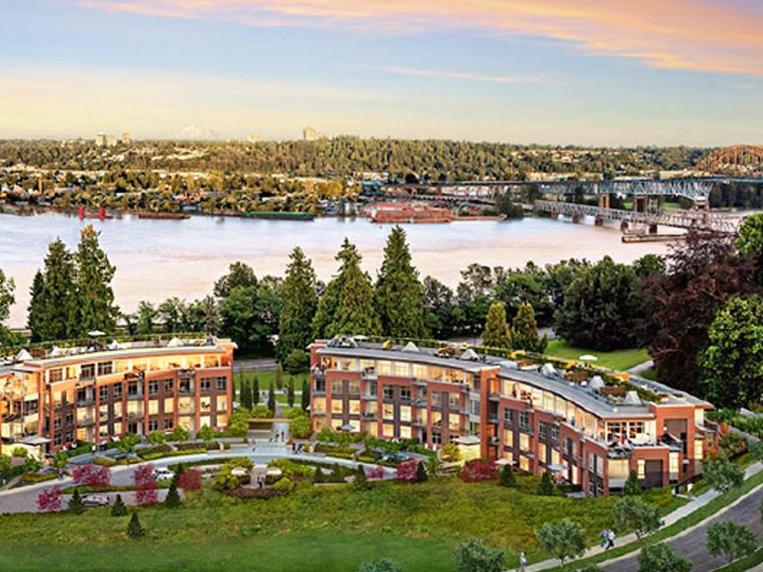 """Main Photo: 203 20 E ROYAL AVENUE Avenue in New Westminster: Fraserview NW Condo for sale in """"The Lookout at Victoria Hill"""" : MLS®# R2457697"""