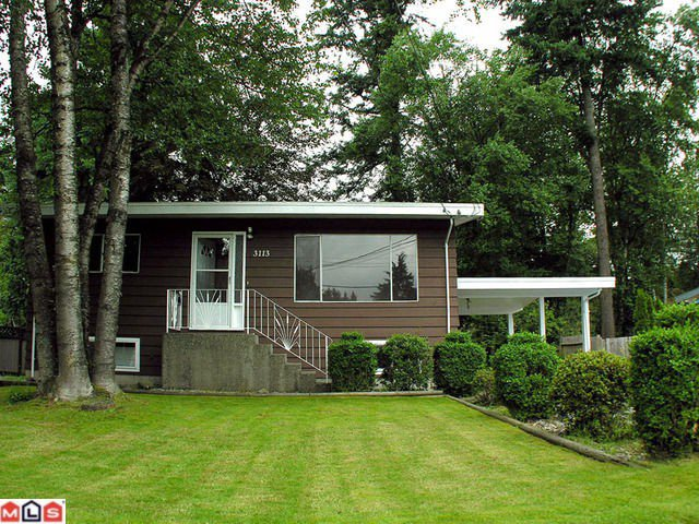 Main Photo: 3113 OLD CLAYBURN Road in Abbotsford: Abbotsford East House for sale : MLS®# F1217399