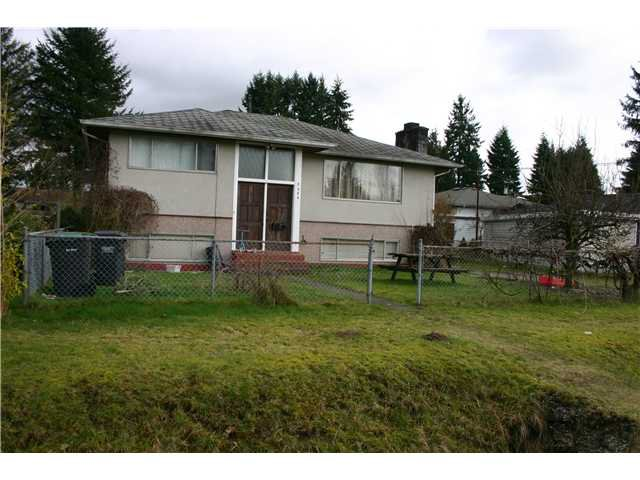 "Main Photo: 3424 ST ANNE Street in Port Coquitlam: Glenwood PQ House for sale in ""OXFORD HEIGHTS"" : MLS®# V990671"