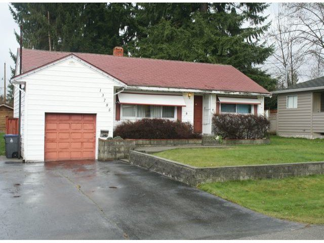 Main Photo: 13785 FRANKLIN Road in Surrey: Bolivar Heights House for sale (North Surrey)  : MLS®# F1310947