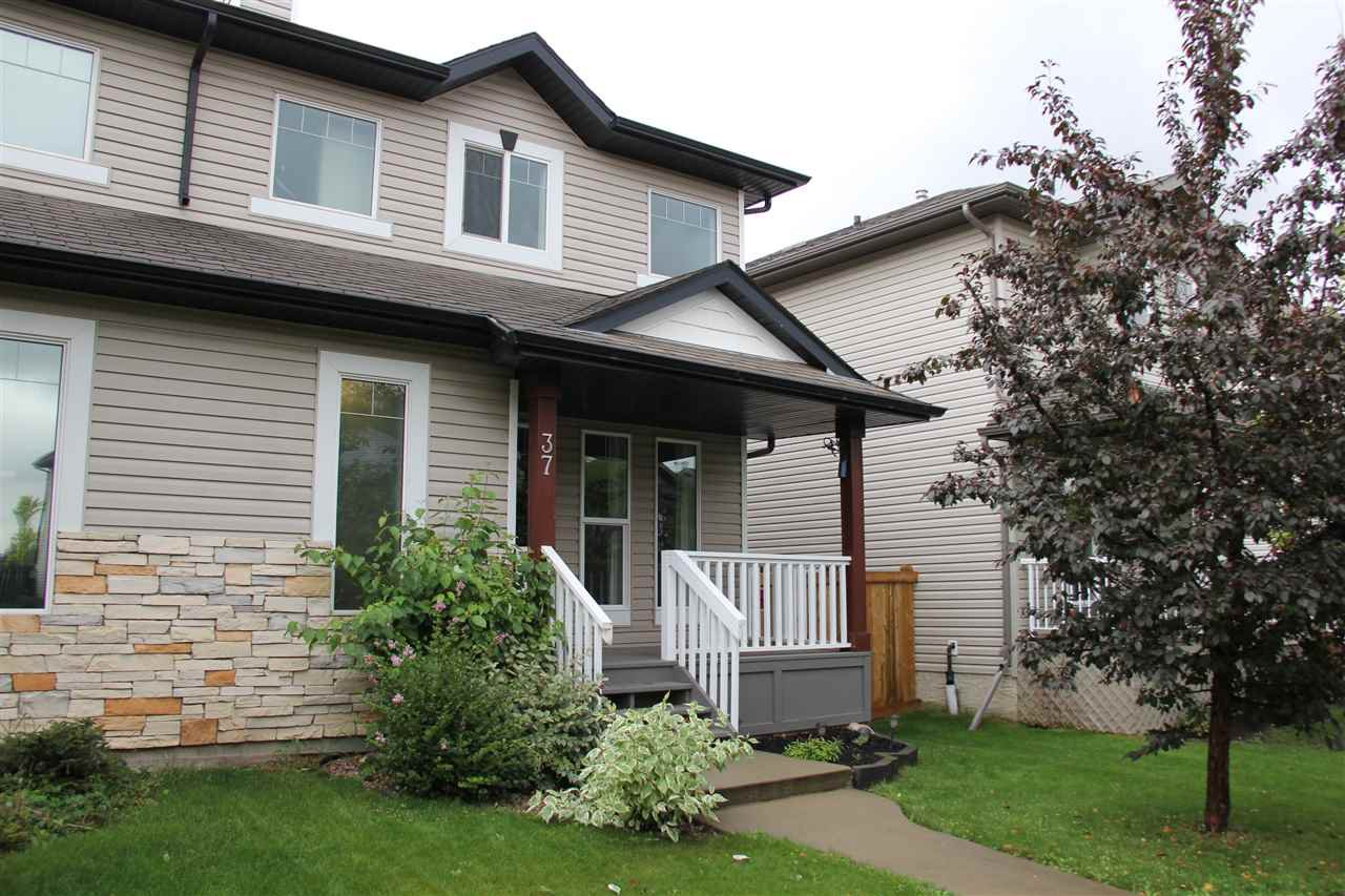 Main Photo: 37 VERNON Street: Spruce Grove House Half Duplex for sale : MLS®# E4173196