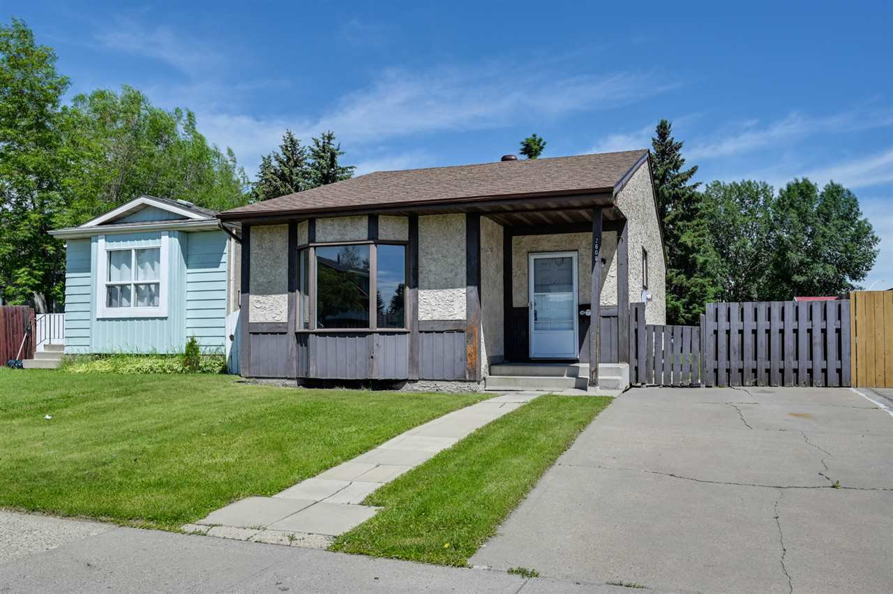 Main Photo: 2608 145A Avenue in Edmonton: Zone 35 House Half Duplex for sale : MLS®# E4201590