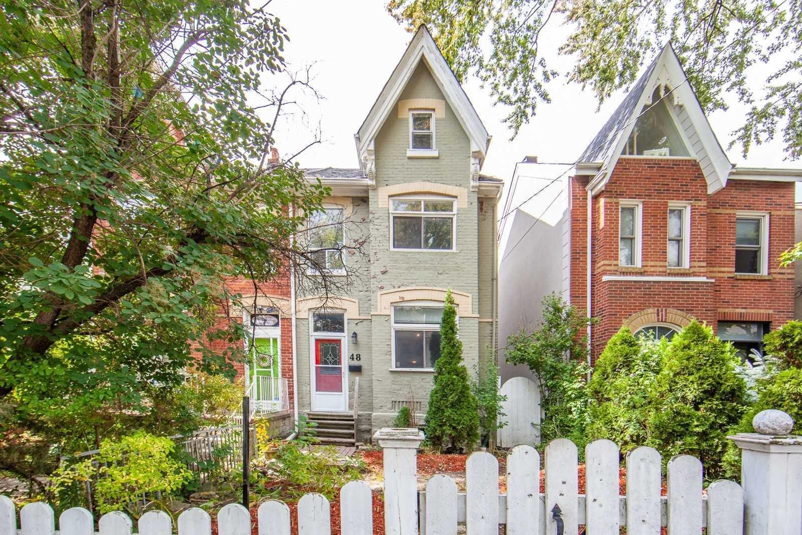 Main Photo: 48 Saulter Street in Toronto: South Riverdale House (2 1/2 Storey) for sale (Toronto E01)  : MLS®# E4933195