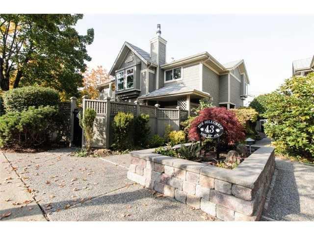 Main Photo: # 3 43 E 20TH AV in Vancouver: Main Townhouse for sale (Vancouver East)  : MLS®# V1032249