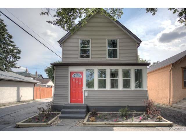 Main Photo: 994 Yarwood Avenue in WINNIPEG: West End / Wolseley Residential for sale (West Winnipeg)  : MLS®# 1420434