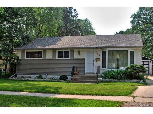 Main Photo: 144 Moore Avenue in WINNIPEG: St Vital Residential for sale (South East Winnipeg)  : MLS®# 1421829