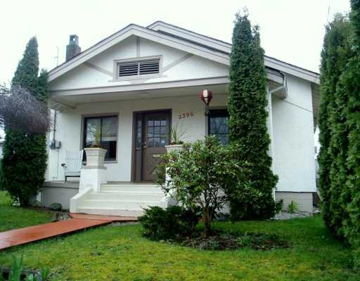 Main Photo: 2396 E 34TH Ave in Vancouver: Collingwood VE House for sale (Vancouver East)  : MLS®# V592833