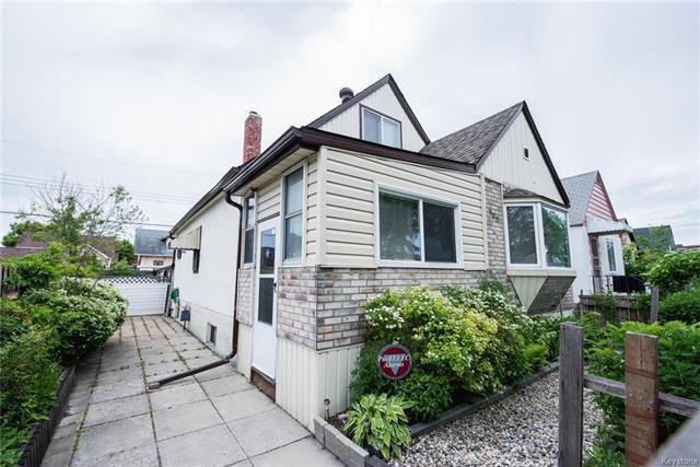 Main Photo: 900 Burrows Avenue in Winnipeg: Single Family Detached for sale (4B)  : MLS®# 1831986