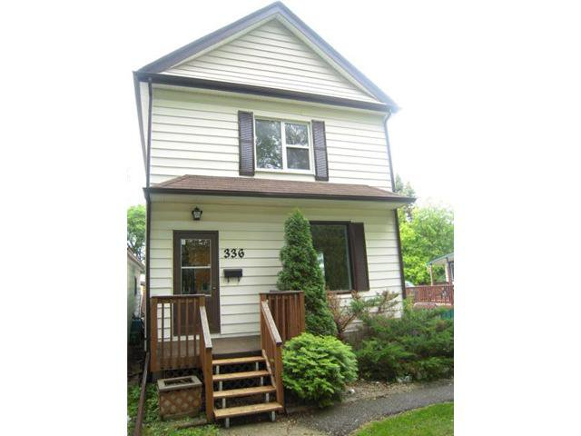 Main Photo: 336 Arnold Avenue in WINNIPEG: Manitoba Other Residential for sale : MLS®# 1210350