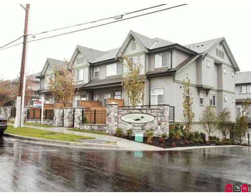 "Main Photo: 8726 159TH Street in Surrey: Fleetwood Tynehead Townhouse for sale in ""FLEETWOOD GREEN"" : MLS®# F2621767"