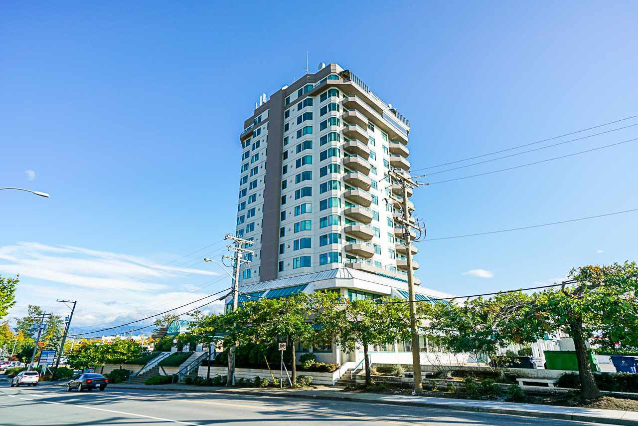 """Main Photo: 1402 32440 SIMON Avenue in Abbotsford: Abbotsford West Condo for sale in """"TRETHEWY TOWER"""" : MLS®# R2435222"""