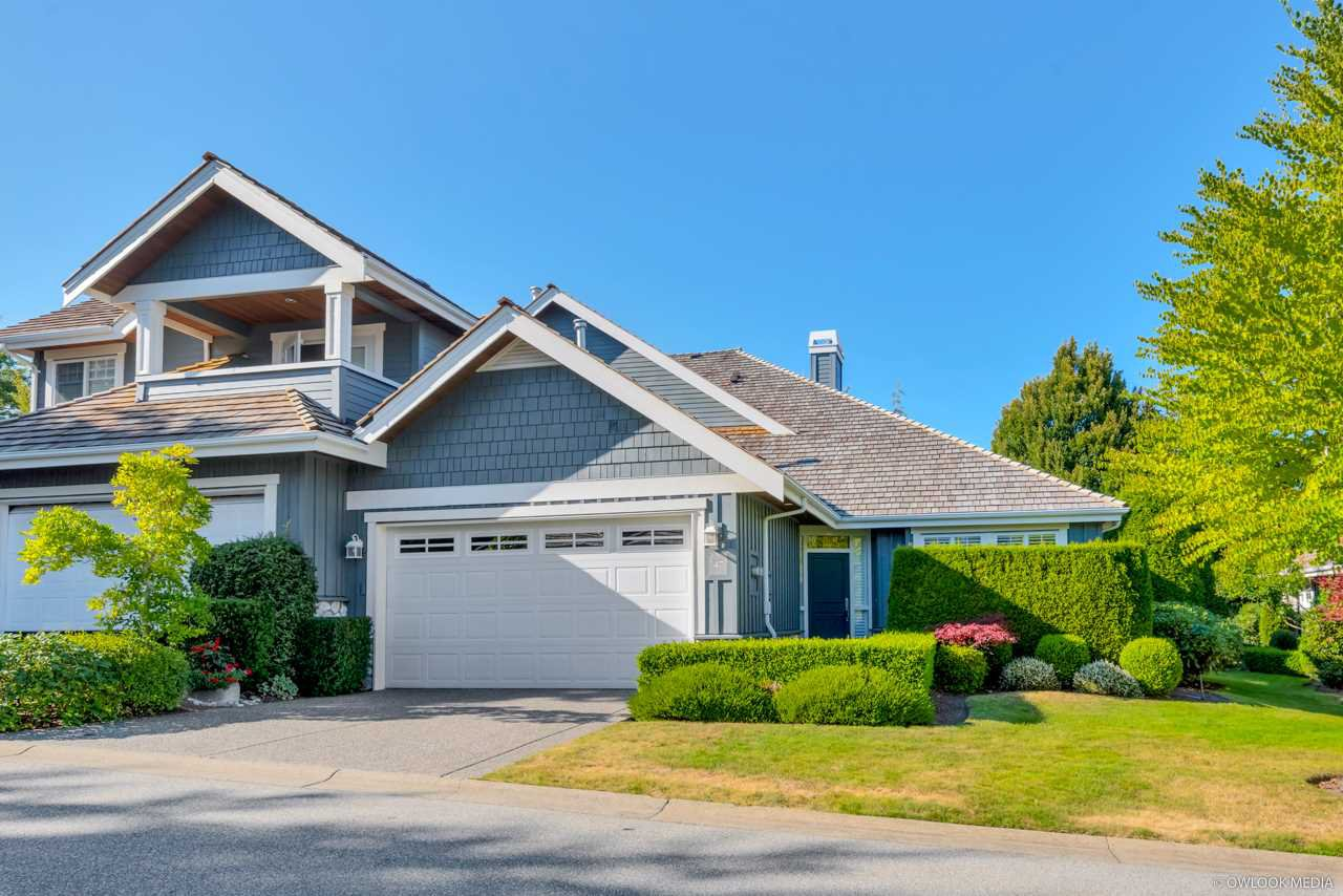 """Main Photo: 47 15715 34 Avenue in Surrey: Morgan Creek Townhouse for sale in """"WEDGEWOOD"""" (South Surrey White Rock)  : MLS®# R2489368"""