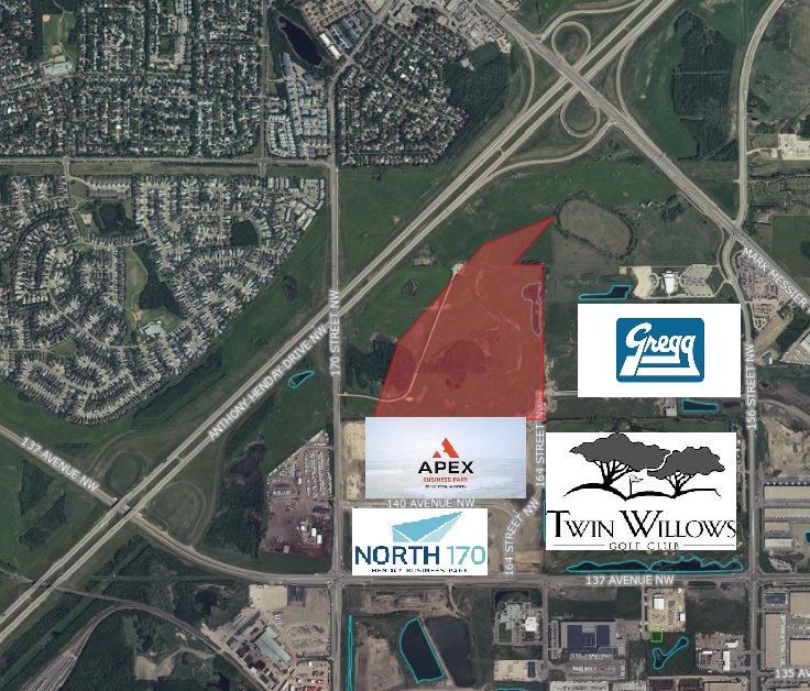 Main Photo: 14490 164 Street in Edmonton: Zone 40 Land Commercial for sale : MLS®# E4223093