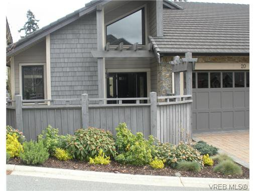 Main Photo: 20 630 Brookside Rd in VICTORIA: Co Latoria Row/Townhouse for sale (Colwood)  : MLS®# 614727