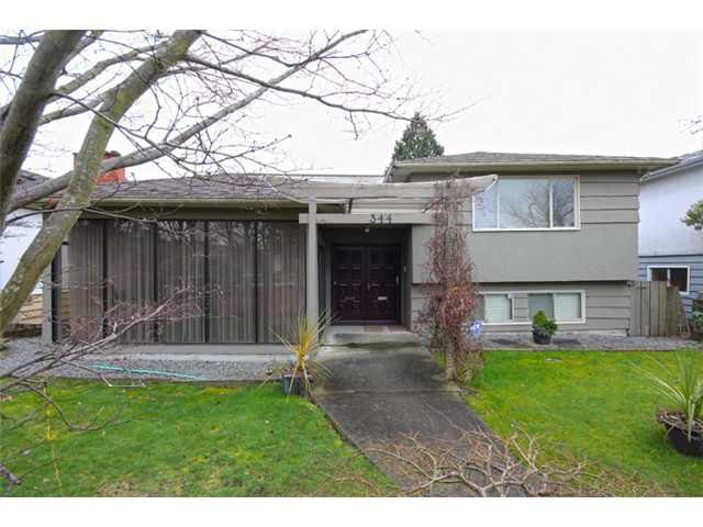 Main Photo: 344 W 62ND Avenue in Vancouver: Marpole House for sale (Vancouver West)  : MLS®# V994542