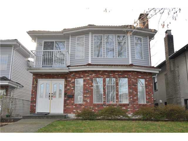 Main Photo: 38 E 19TH AV in Vancouver: Main House for sale (Vancouver East)  : MLS®# V1043322