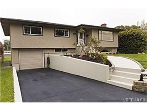 Main Photo: 3913 Ansell Road in VICTORIA: SE Mt Tolmie Single Family Detached for sale (Saanich East)  : MLS®# 246312