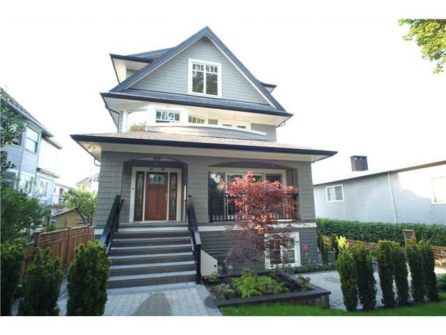 Main Photo: 2346 W 8TH Avenue in Vancouver: Kitsilano Townhouse  (Vancouver West)  : MLS®# V1081681