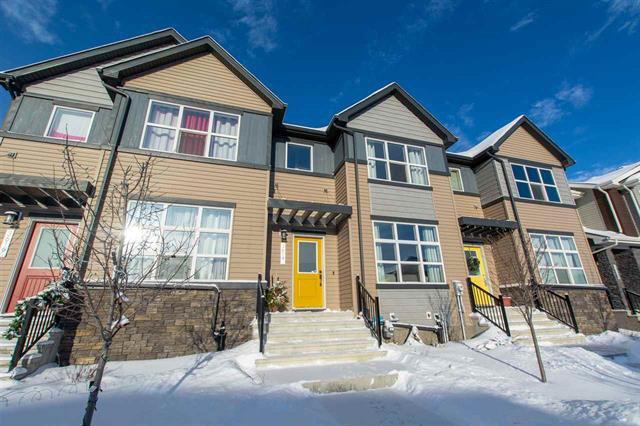 Main Photo: 3614 8 AV SW in Edmonton: Zone 53 Attached Home for sale : MLS®# E4183728