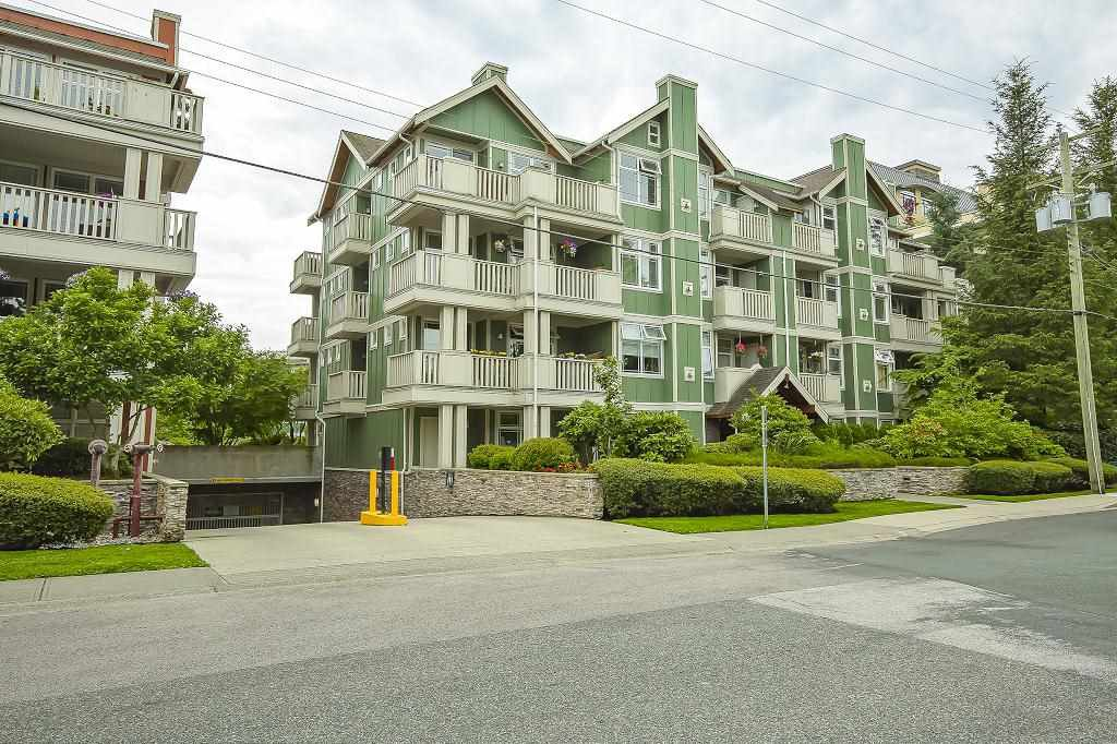"Main Photo: 201 15350 16A Avenue in Surrey: King George Corridor Condo for sale in ""Ocean Bay Villas"" (South Surrey White Rock)  : MLS®# R2469880"