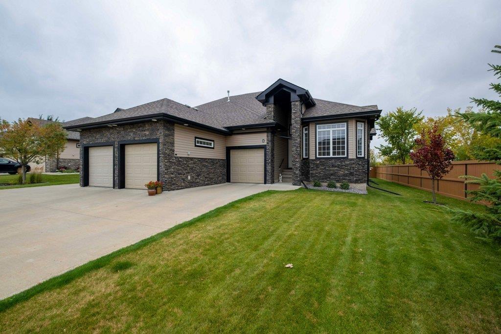 Main Photo: 1 85 NORTH RIDGE Drive: St. Albert House Half Duplex for sale : MLS®# E4214414