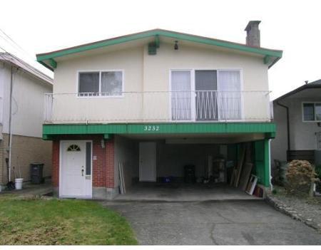 Main Photo: 3232 E 47TH AV in Vancouver: House for sale (Killarney VE)  : MLS®# V693746