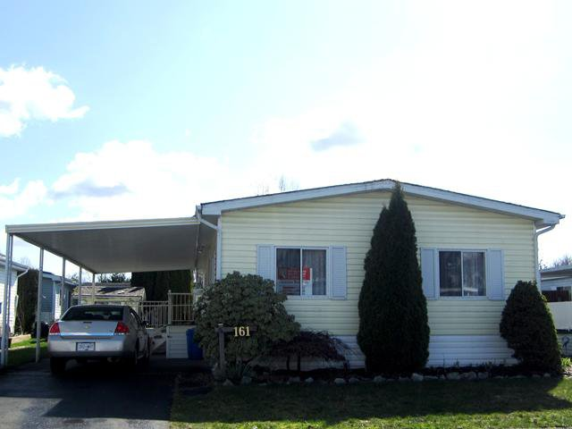 """Main Photo: 161 145 KING EDWARD Street in Coquitlam: Maillardville Manufactured Home for sale in """"MILL CREEK VILLAGE"""" : MLS®# V997503"""