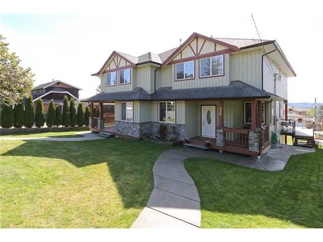 Main Photo: 926 HARRIS AV, in Coquitlam: Maillardville House Duplex for sale : MLS®# V962440