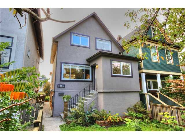 Main Photo: 1982 Charles Street in Vancouver: House for sale : MLS®# V1088824