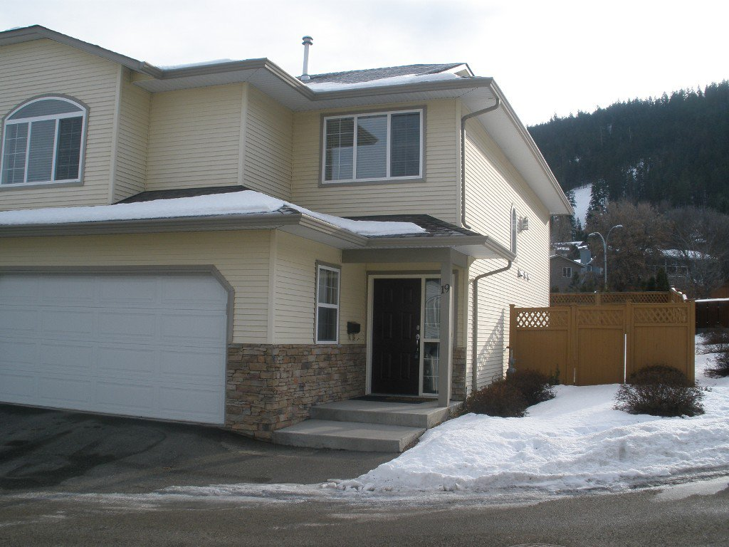 Main Photo: 19-2210 Qu'Appelle Blvd in Kamloops: Juniper Heights House Duplex for sale : MLS®# 126502