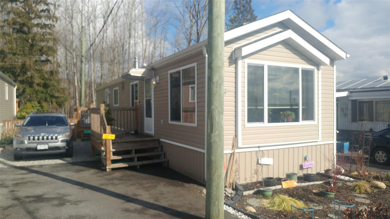 Main Photo: 8 9970 WILSON STREET in Mission: Mission BC Manufactured Home for sale : MLS®# R2141478