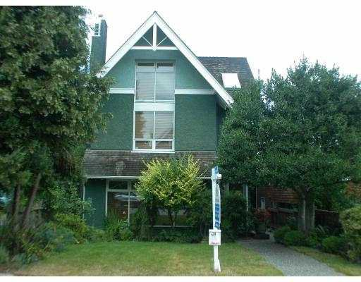 Main Photo: 3163 W 2ND AV in Vancouver: Kitsilano House 1/2 Duplex for sale (Vancouver West)  : MLS®# V552546