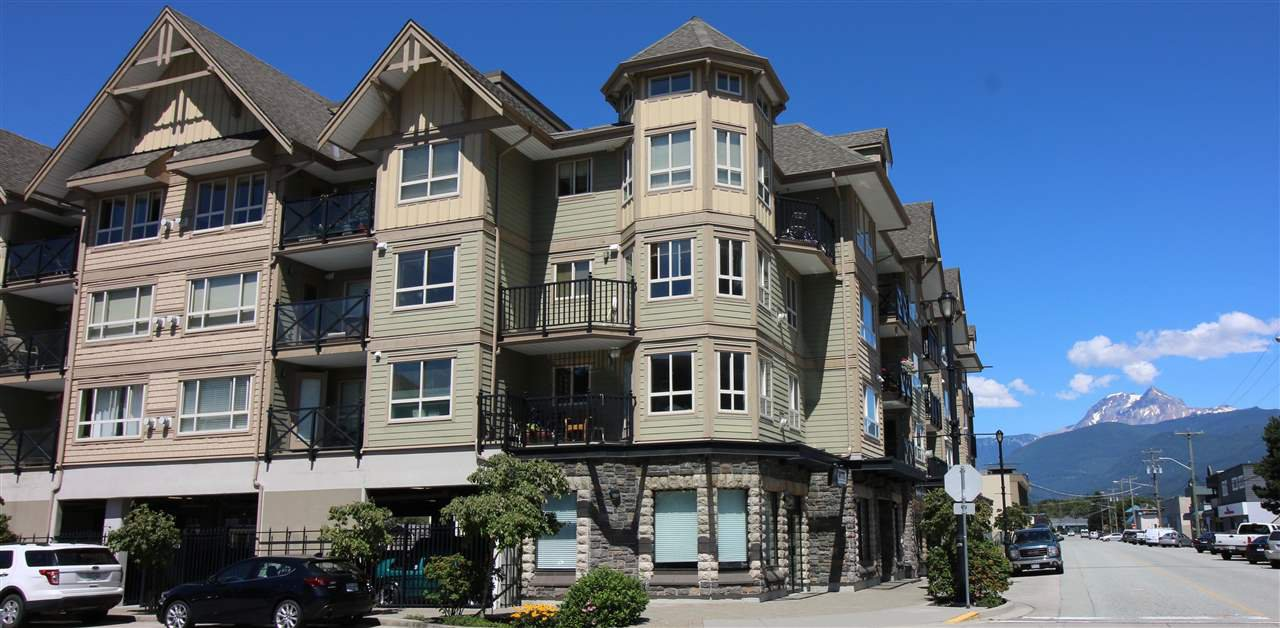 Main Photo: 313 38003 Second Avenue in Squamish: Downtown Condo for sale : MLS®# R2291295